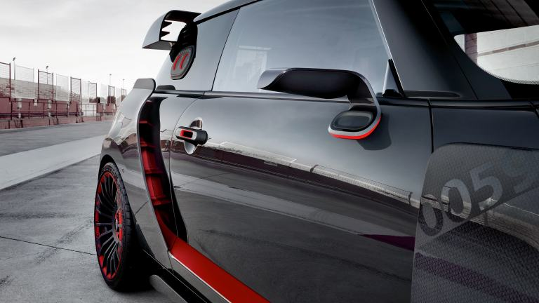 MINI John Cooper Works GP Concept – изглед отзад