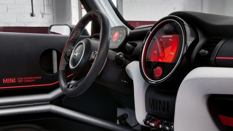 MINI John Cooper Works GP Concept – кокпит