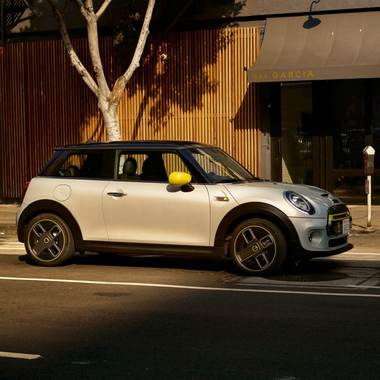 The all-electric MINI